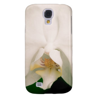 White Phalaenopsis Orchid Samsung Galaxy S4 Cases
