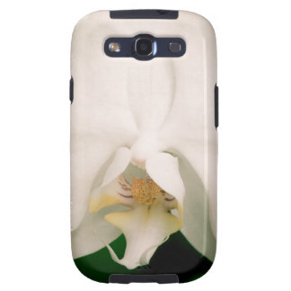 White Phalaenopsis Orchid Samsung Galaxy S3 Covers