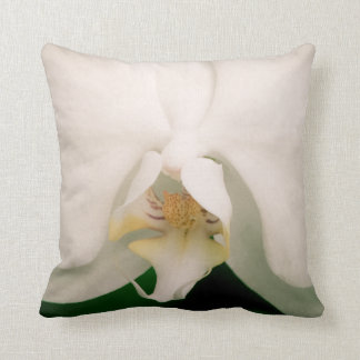White Phalaenopsis Orchid Pillows