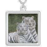 White phase, Bengal Tiger, Tigris Custom Jewelry