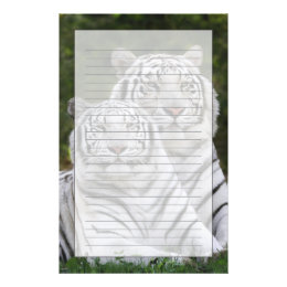White phase, Bengal Tiger, Tigris Stationery