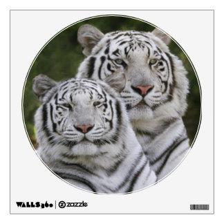 White phase, Bengal Tiger, Tigris Wall Sticker