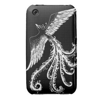 White phoenix iPhone 3 cover