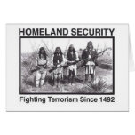 White Photo Indian Homeland Security Card
