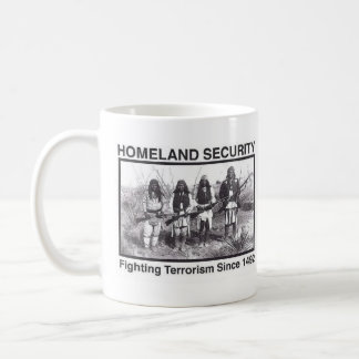 White Photo Indian Homeland Security Coffee Mug