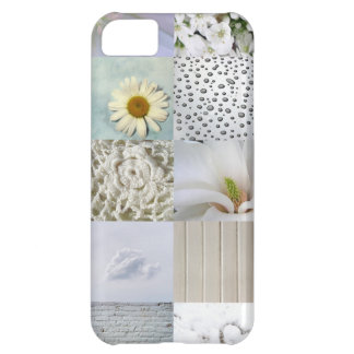 White photography collage case for iPhone 5C