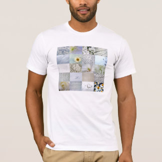 White photography collage T-Shirt