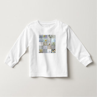 White photography collage toddler t-shirt