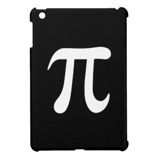 White pi symbol on black background iPad mini covers