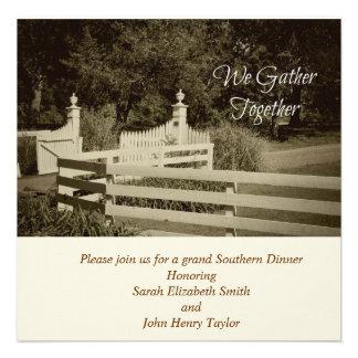 White Picket Fence Invitations