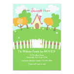 White Picket Fence Moving Announcement