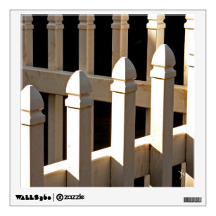 White Picket Fence Wall Decal  sc 1 st  Zazzle & White Picket Fence Wall Decals u0026 Wall Stickers | Zazzle