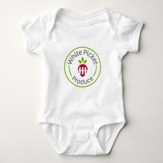 White Picket Produce Apparel Baby Bodysuit