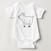 White Pig Kids & Baby Shirt