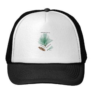 white pine trucker hat