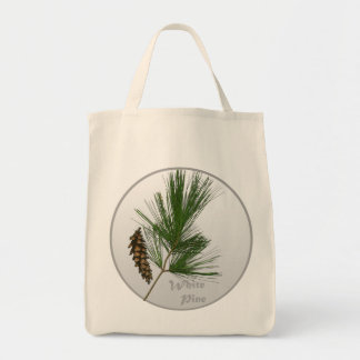 White Pine Tree Bag