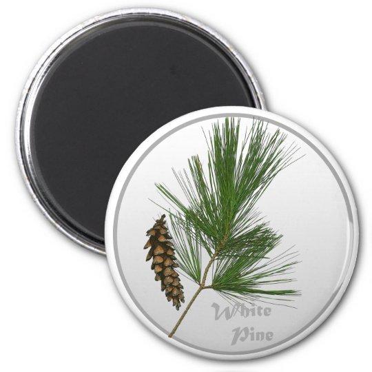 White Pine Tree Magnet