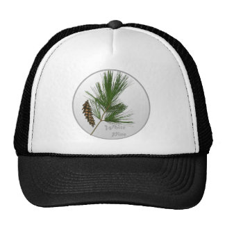 White Pine Tree Trucker Hat