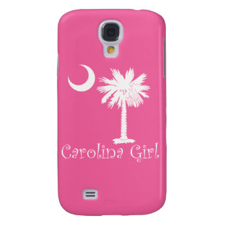 White/Pink Carolina Girl iPhone 3G/3GS Case Galaxy S4 Covers