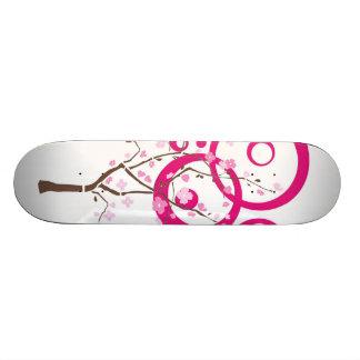 WHITE PINK LADY SKATEBOARD DECK