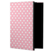 White Pink polka dot pattern iPad Air 2 case Powis iPad Air 2 Case