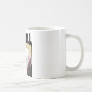White Pit Bull Mug