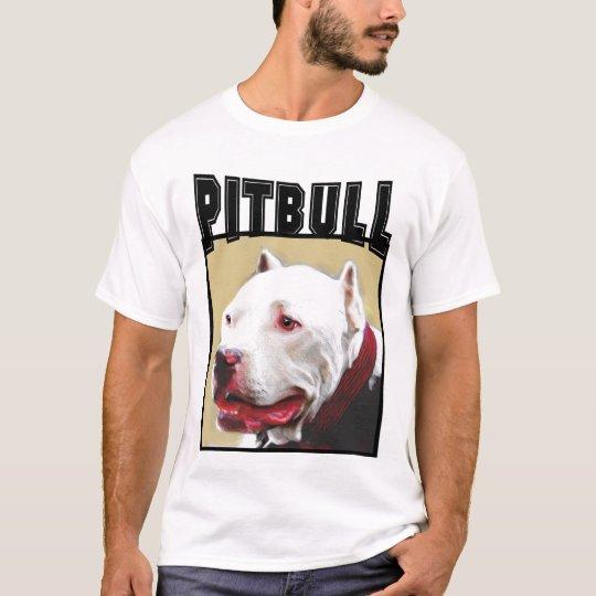 White Pitbull tank top