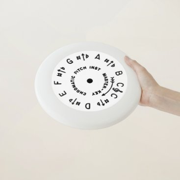 Beach Themed White Pitch Pipe Wham-O Frisbee
