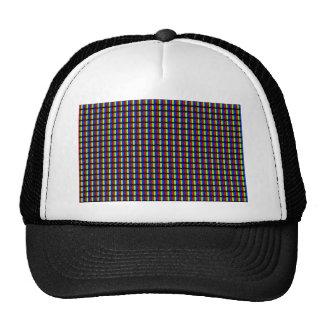 White Pixels Trucker Hat