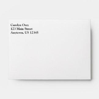 Plain Printed & Mailing Envelopes | Zazzle