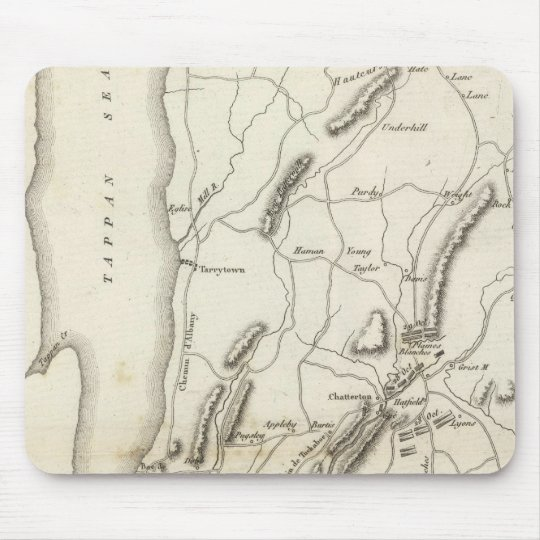 White Plains and Weapons Mouse Pad