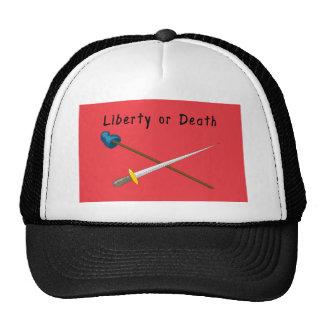 White Plains Flag T-Shirts Trucker Hat