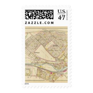White Plains guarda 1-2, Nueva York Sello Postal
