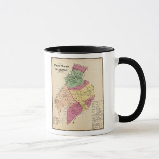 White Plains, Scarsdale towns Mug