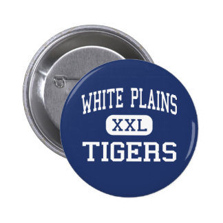 White Plains Tigers Middle White Plains Button