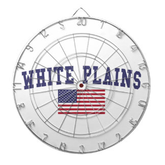 White Plains US Flag Dartboard With Darts