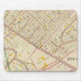 White Plains wards 2-3, New York Mouse Pad