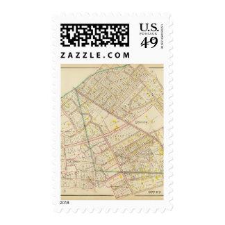 White Plains wards 2-3, New York Postage