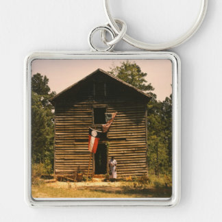 White Plains Woman, 1940s Keychain