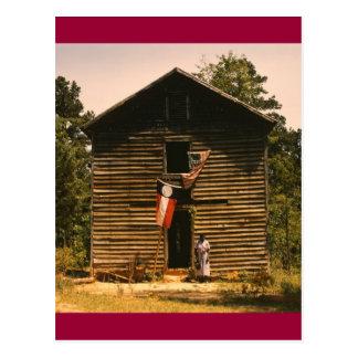 White Plains Woman, 1940s Postcard