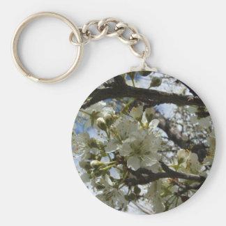White Plum blossoms Key Chains