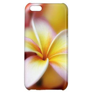 White Plumeria Frangipani Hawaii Flower Hawaiian iPhone 5C Covers