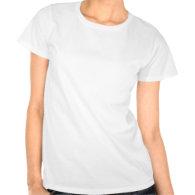 White Poinsettia Tee Shirts