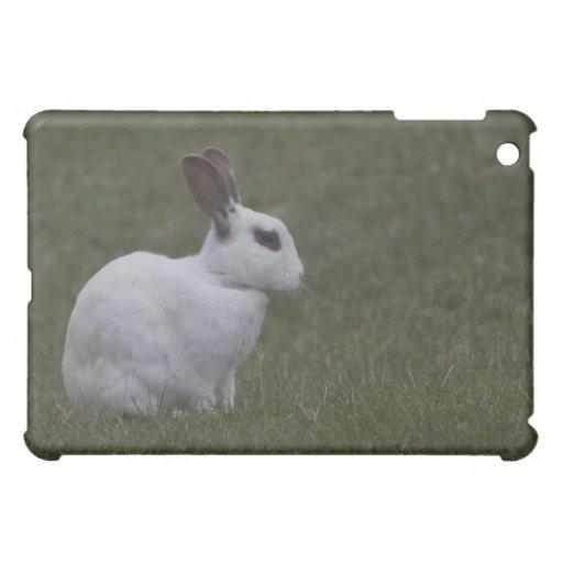 White Point Bunny iPad Mini Cases