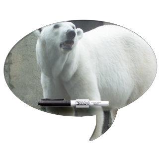 White Polar Bear Dry Erase Board