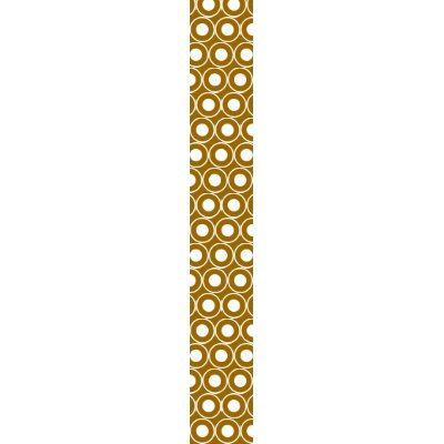 brown white polka dot fabric