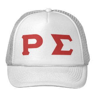 WHITE POLY CAP MESH HATS