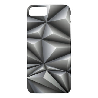 White Polygons iPhone 7 Case