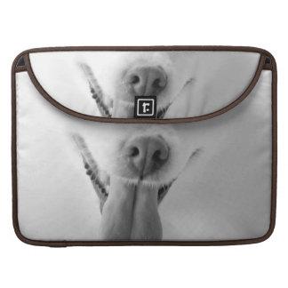 "White Pomeranian 15"" MacBook Sleeve Sleeves For MacBooks"