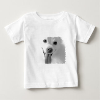 White Pomeranian Baby T-Shirt